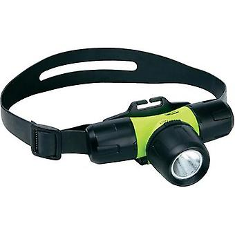 LED Underwater headlamp LiteXpress Liberty Aqua 1 battery-powered 180 g Yellow, Black LXL10000W4