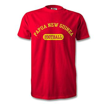 Papua New Guinea Football Kids T-Shirt