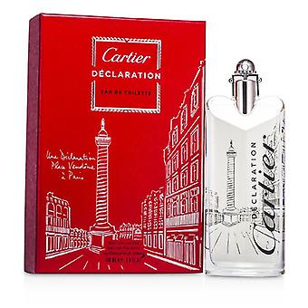 Cartier deklaration Eau De Toilette Spray (Limited Edition) 100ml/3.3 oz