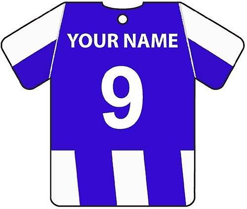 Personalised Hartlepool United Football Shirt Car Air Freshener