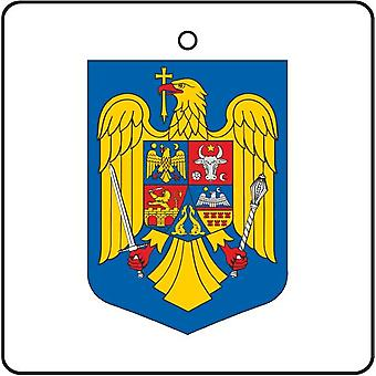Romania Coat Of Arms Car Air Freshener
