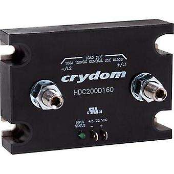 DC contactor 1 pc(s) HDC200D160 Crydom Current load: 160 A Switching voltage (max.): 150 Vdc
