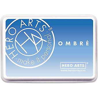 Hero Arts Ombre Ink Pad-Soft Sky To Indigo OMBRE-AF385
