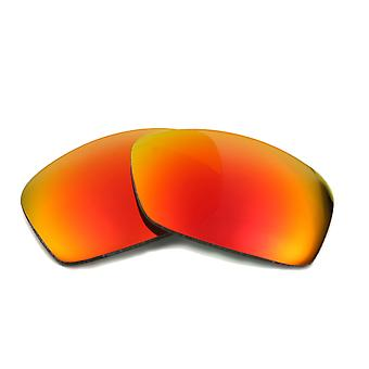 New SEEK Polarized Replacement Lenses for Oakley Sunglasses HIJINX Red Mirror
