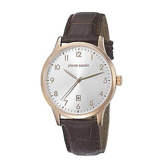 Pierre Cardin mens watch bracelet watch HENRI MARTIN leather PC106671F05