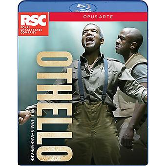 Shakespeare: Othello [Blu-ray] USA importerer
