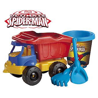Mondo Spiderman Set Playa Con Camión 40 Cm (Outdoor , Garden Toys , Sand Toys)