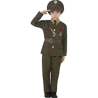 Armee Soldat Uniform Offizier Kinderkostüm