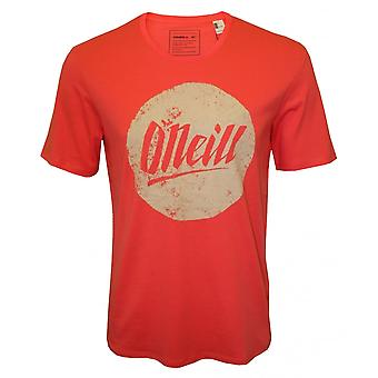 O'Neill Circle Logo Crew-Neck T-Shirt, Deep Sea Coral