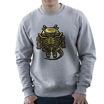 Droilien Alien Android Men's Sweatshirt