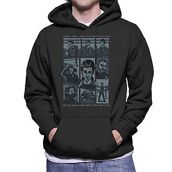 Overnaturlige parodi sang Hillywood Vis Sam og Dean Winchester mænd 's hætte Sweatshirt