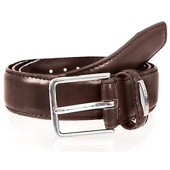 Deuken lederen riem - Brown