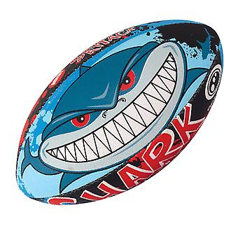 OPTIMUM shark attack MIDI rugby ball