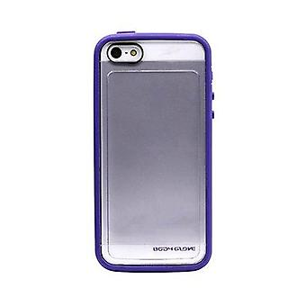 Body Glove MySuit Case for Apple iPhone 5/5S (Grape / Clear)