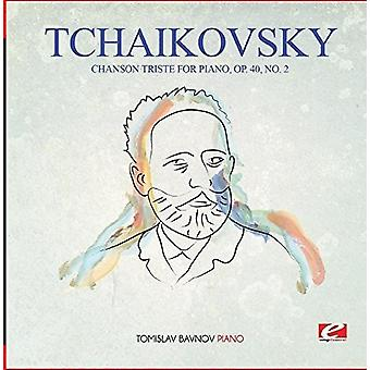 Tchaikovsky - Chanson Triste for Piano Op. 40 No. 2 [CD] USA import