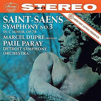 Detroit Symfoniorkester / Paray, Paul / Dupre, Marcel - Saint-Saens: orgel symfoni [CD] USA import