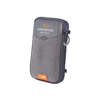 Lifeventure HydroFibre Trek Towel Pocket Grey