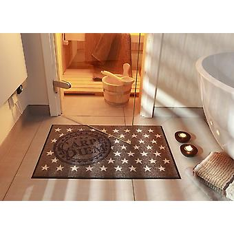 Carpe diem 50 x 75 cm washable floor mat Salon lion