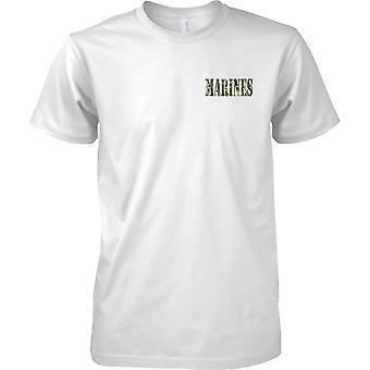 Marines - USMC - Royal Marines - Niederländisch - elitären Seestreitkräfte - Mens Brust entwerfen T-Shirt