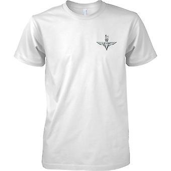 Licentie - British Army Parachute Regiment Insignia - MOD Mens borst Design T-Shirt