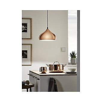 Eglo Stunning Copper Kitchen Ceiling Light Pendant
