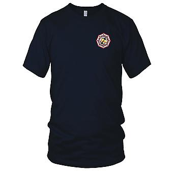 US Navy DD-818 USS New Embroidered Patch - Destroyer Mens T Shirt