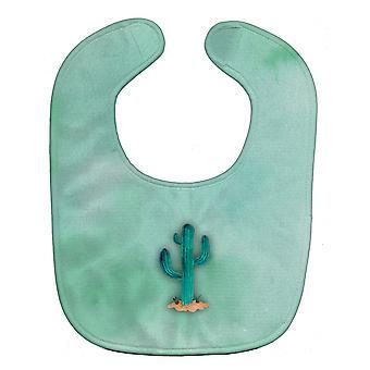 Carolines schatten BB7369BIB westelijke Cactus aquarel Baby slabbetje