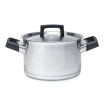 BergHOFF sauce pan with lid in stainless steel with lid 20cm