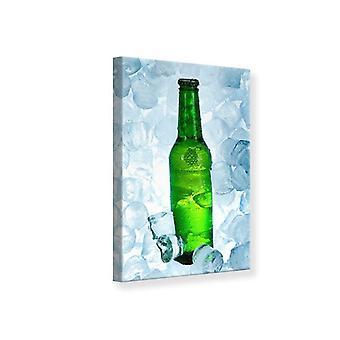 Canvas Print Iced bier