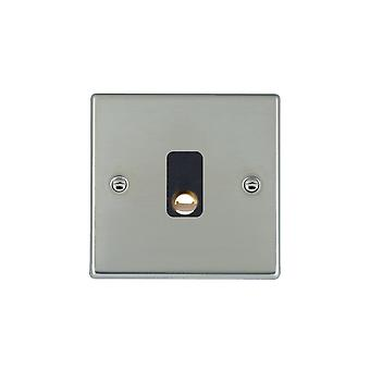 Hamilton Litestat Hartland Bright Stainless Chrome 20A Cable Outlet BL
