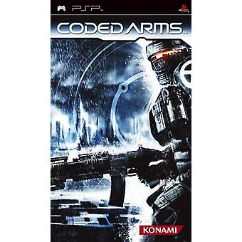 Coded Arms PSP Game
