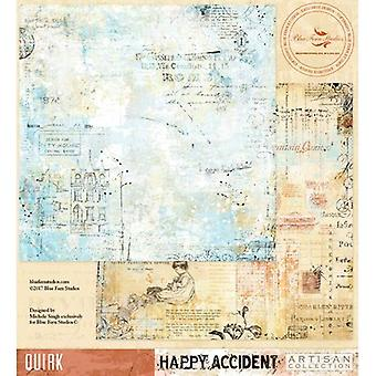 Blue Fern Happy Accident Double-Sided Cardstock 12