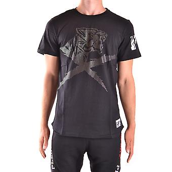 Philipp Plein men's MTK0779SJY001N02 black cotton T-Shirt
