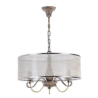 Maytoni Lighting Cable House Collection Pendant, Beige (wood)