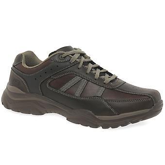 Skechers Ровато Texon Мужская случайный зашнуровать обувь