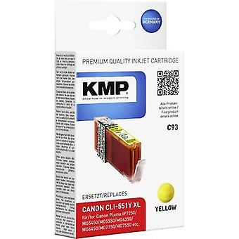 KMP Ink replaced Canon CLI-551Y, CLI-551Y XL Compatible