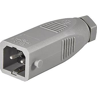 Mains connector STAS Series (mains connectors) STAS Plug, straight