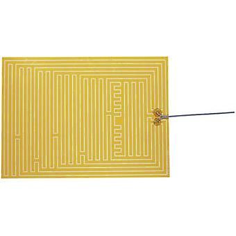 Heating foil self-adhesive 12 Vdc, 12 Vac 35 W IP rating IPX4 (L x W) 400 mm x 290 mm Thermo