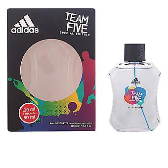 Adidas Team Five Eau De Toilette Vapo 100ml New Mens Fragrance Scent Sealed Boxed