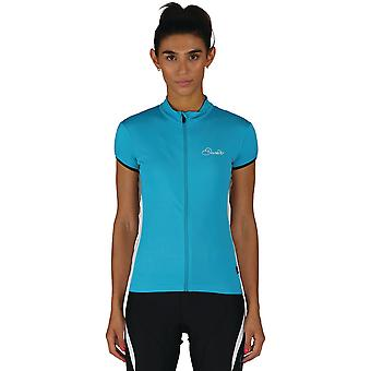 Dare 2b Womens/Ladies Decorum Polyester Full Zip Cycling Jersey