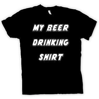 Kids t-skjorte-min øl drikking skjorte - Funny