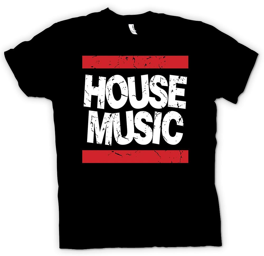 Mens T-shirt - House-Musik - Clubs