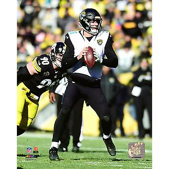 Blake Bortles 2017 AFC Divisional Playoff Game Photo Print