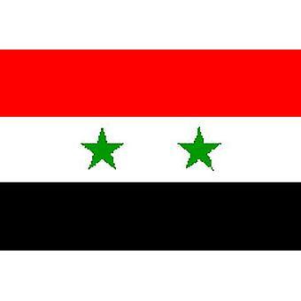 Syrien/syrische Flagge 5 x 3 ft mit Ösen für hängende