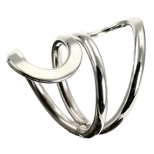 Wrap It Silver Ring