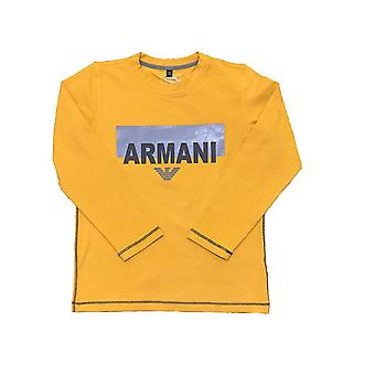 Armani Junior Boys Long Sleeve T-Shirt