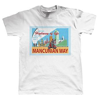 The Mancunian Way T Shirt | Guest Artist Eric Jackson