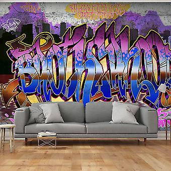 Wallpaper -  Colorful Mural