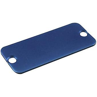 End cover Aluminium Blue Hammond Electronics 1455CALBU-10 1 pc(s)