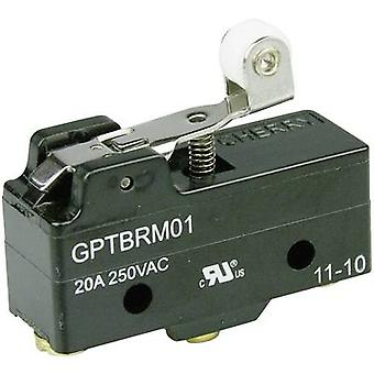 Cherry Switches Microswitch GPTBRM01 250 V AC 20 A 1 x On/(On) momentary 1 pc(s)